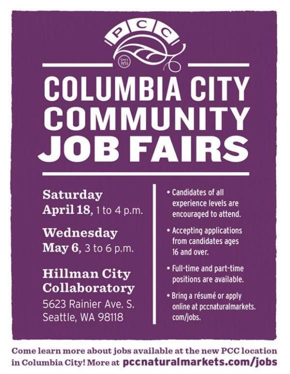 PCC Job Fairs